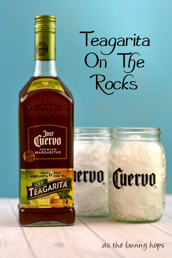 Serve Teagarita on the rocks! #CuervoTeagarita