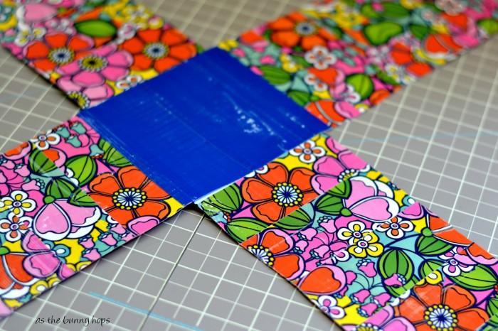 Assemble Duct Tape Piece  #WalgreensBeauty  #shop