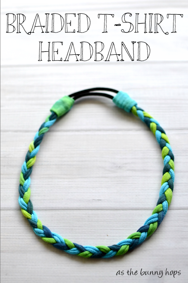 Braided T-Shirt Headband