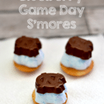 {Recipe} Deconstructed Blueberry Game Day S'mores