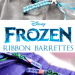 {Tutorial} FROZEN Inspired 80s Style Ribbon Barrettes