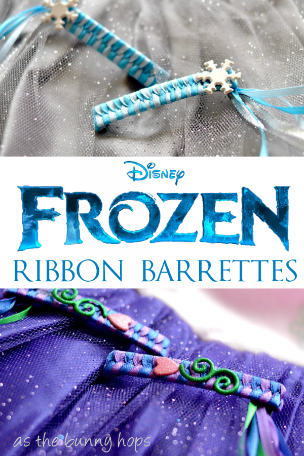 Disney Frozen Ribbon Barrettes #FROZENFun #shop