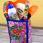{Tutorial} Duct Tape Gift Bag and Summer Beauty Gift