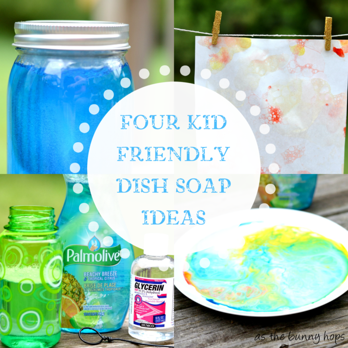 Four Kid Friendly Dish Soap Ideas #Palmolive25Ways #shop