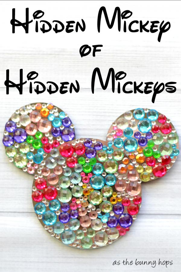 Hidden Mickey of Hidden Mickeys