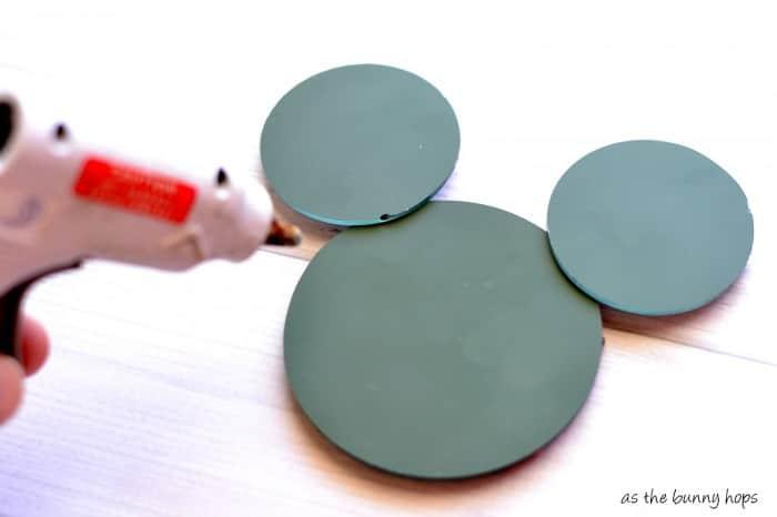 Hot Glue Hidden Mickey