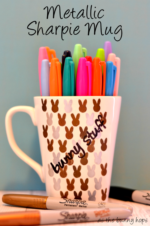 Metallic Sharpie Mug