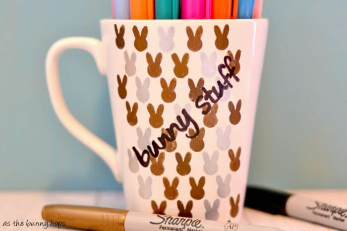 Metallic Sharpie Mug
