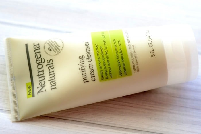 Neutrogena Naturals Purifying Cream Cleanser