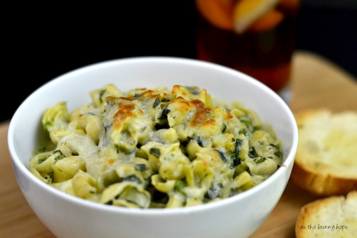 Spinach and Artichoke Pasta Dinner #TEArifficPairs #shop