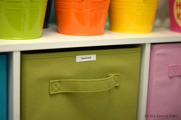 Easy Craft Bin Labels