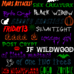 Free Fun Halloween Fonts