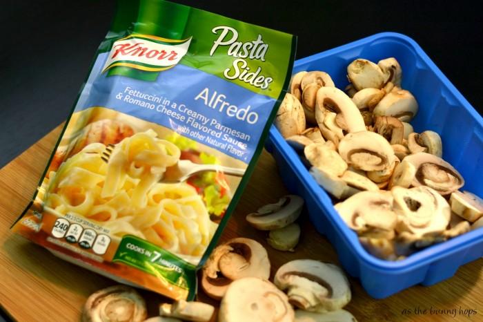 Knorr Pasta Sides Alfredo #TEArifficPairs #shop