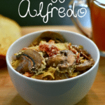 {Recipe} Easy Veggie Alfredo Pasta and Autumn Spiced Tea