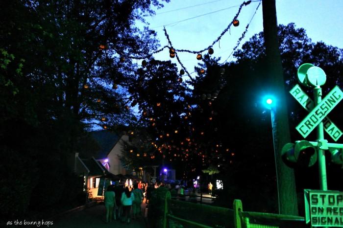 Rail Road Crossing at Night