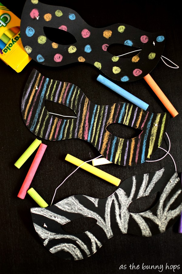 Chalkboard Masks