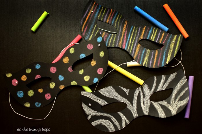 It's easy to make DIY chalkboard masks with inexpensive supplies and your Silhouette!