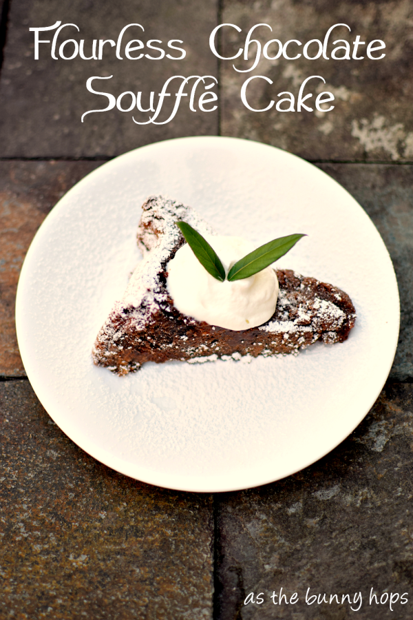 Flourless Chocolate Soufflé Cake