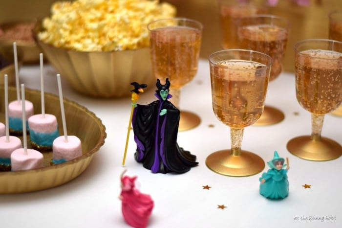 Sleeping Beauty Ginger Ale Wine Glasses #DisneyBeauties #shop