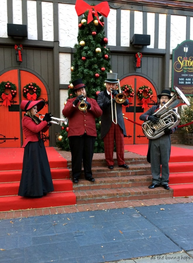 Musicians at Busch Gardens