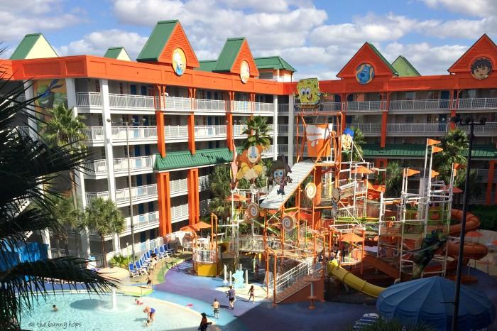 Nick Hotel Lagoon Pool