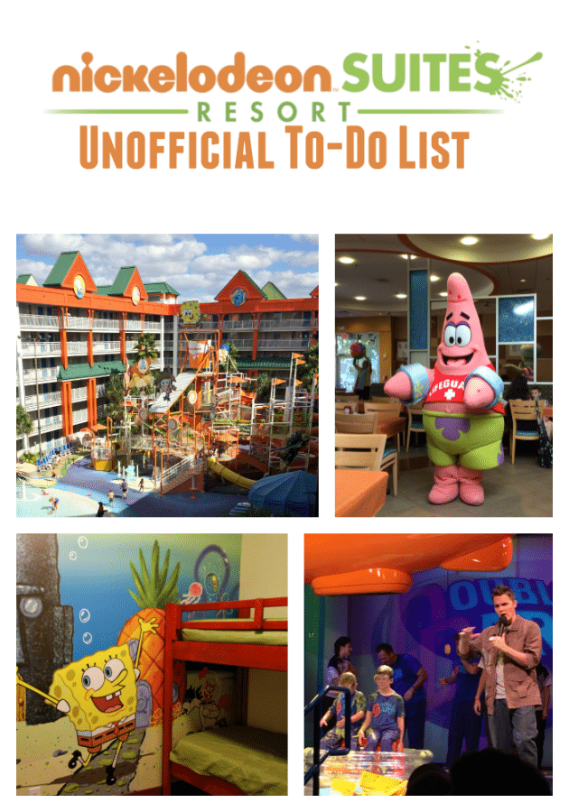 Your Unofficial Nick Hotel To-Do List