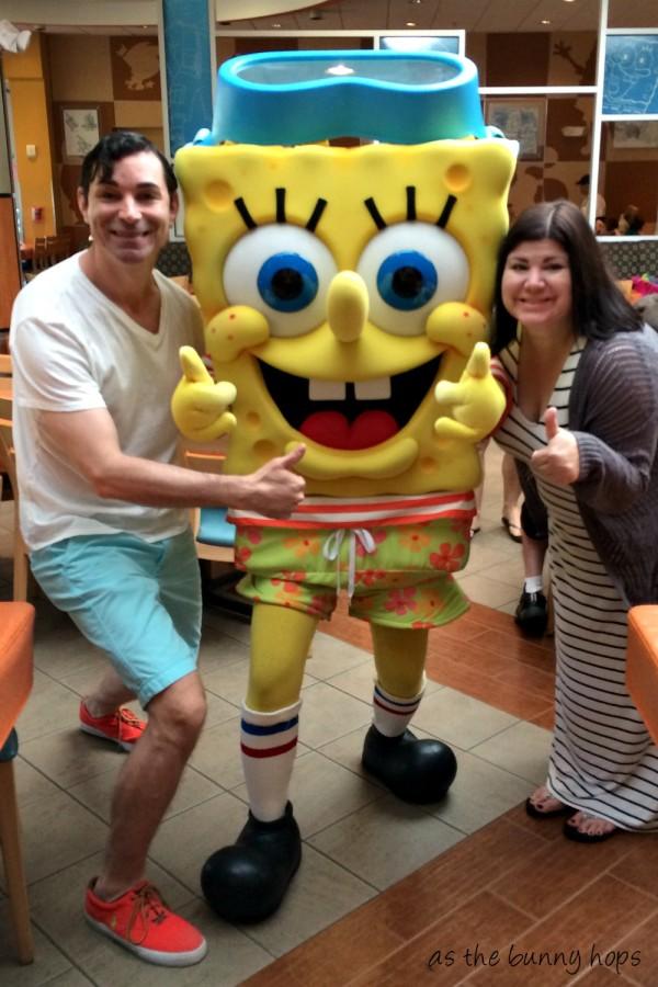 SpongeBob Character Breakfast