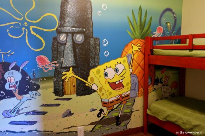 SpongeBob Two Bedroom Suite at Nick Hotel