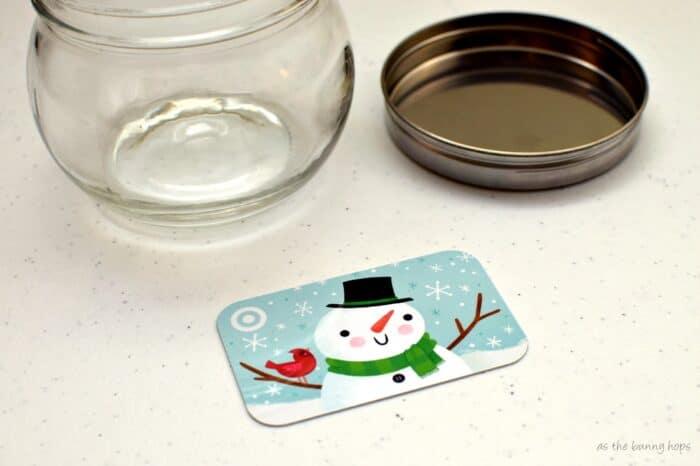 Target Snowman Gift Card