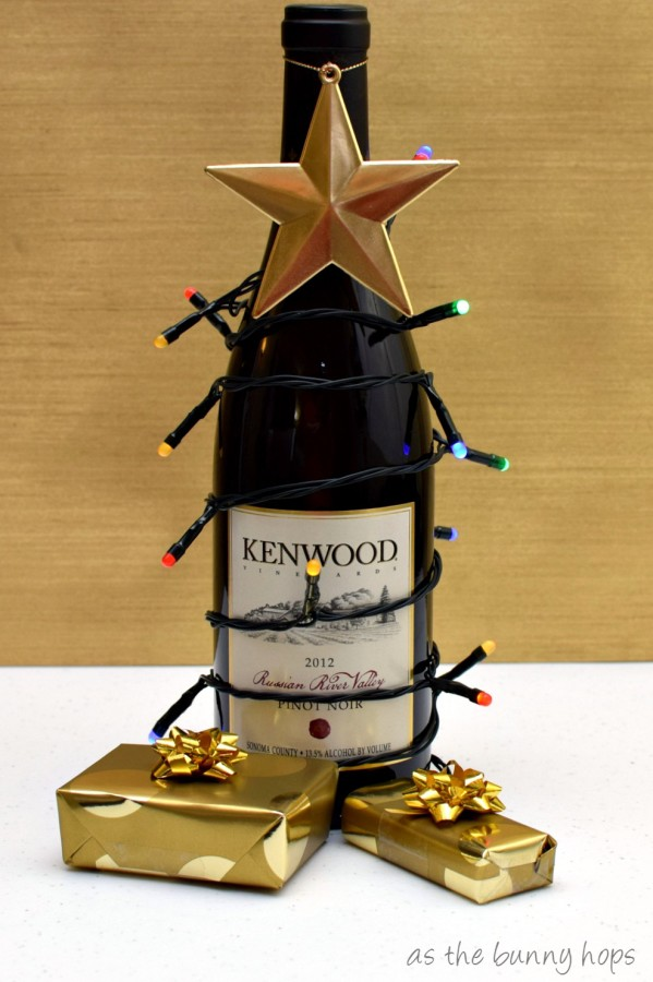 Wine Christmas Tree