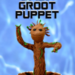 {Tutorial} Dancing Baby Groot Puppet
