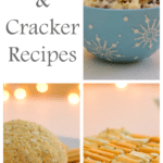 Cheese and Crackers Three Ways