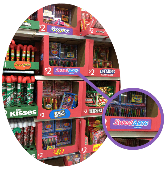 Seasonal Candy Display