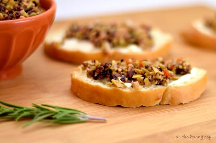 60 Second Vegetarian Tapenade-so easy to make!