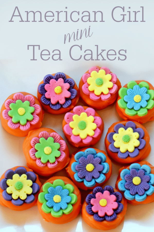 It's easy and fun to make these American Girl Mini Tea Cakes