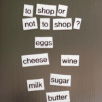 DIY Magnetic Poetry Shopping List