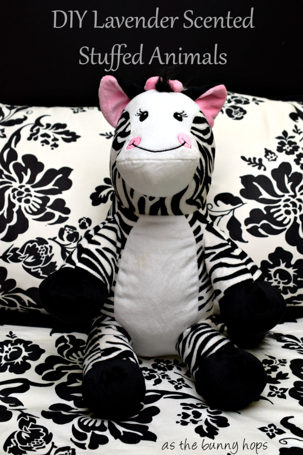 Easy To Make Sleep Buddies: DIY Lavender Scented Stuffed Animals