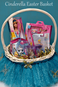 Make a fun Easter basket inspired by Cinderella's ball gown! #DisneyEaster #ad