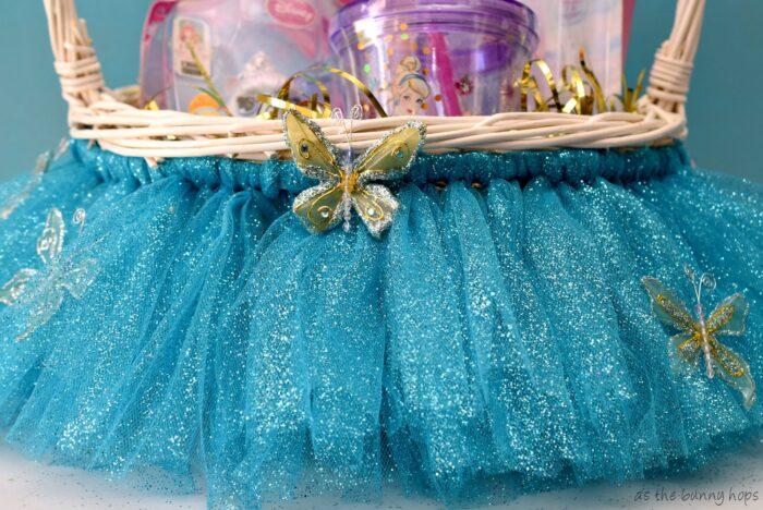 Cinderella Easter Basket Skirt