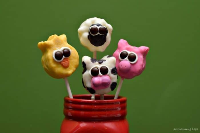 Create fun Farm Friends with Rice Krispies Treats! #KreateMyHappy #ad