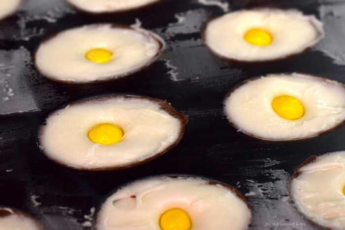 It's the classic creme egg you love with a delicious crispy twist! Get the recipe for easy M&M's Crispy Creme Eggs. Perfect for Easter or anytime you need a creme egg fix!