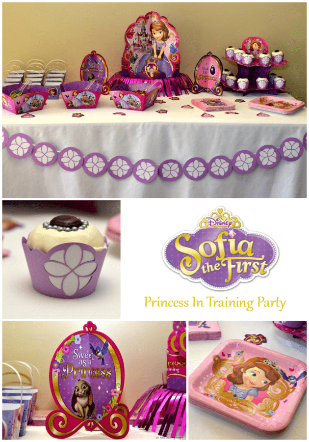 Hold a fun Sofia the First Party for your Princess in Training!