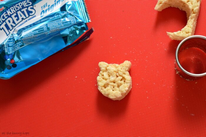 Shaped Rice Krispies Treats
