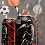 DIY Sports Straws