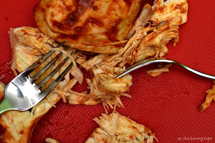 The world's easiest pulled chicken tacos!