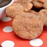 Disney Inspired: Mickey's Churro Cookies