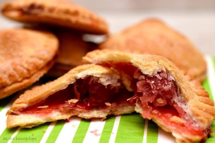 Ridiculously easy mini cherry pies!