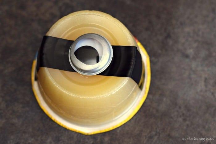 Minion Applesauce Cups
