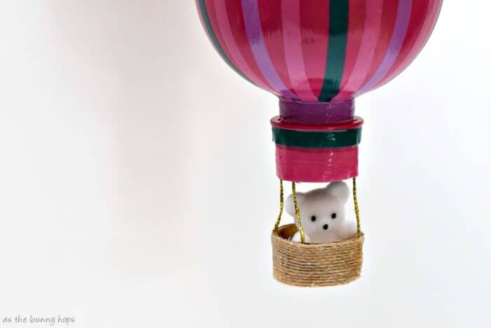 Water Bottle Hot Air Balloons