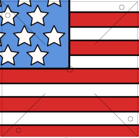 Flag Pinwheel Printable